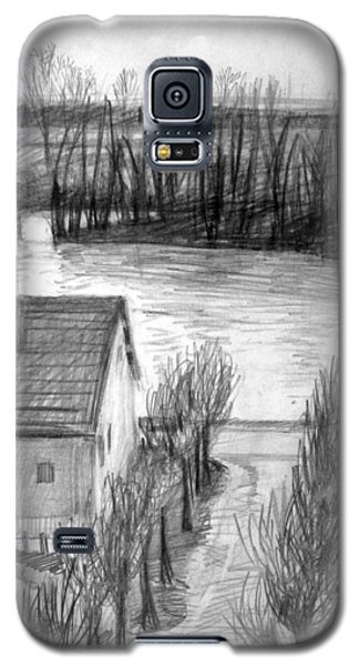 La Seine At Herblay Galaxy S5 Case