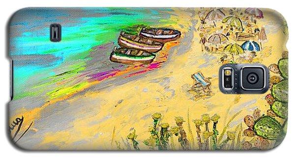 La Spiaggia Galaxy S5 Case by Loredana Messina