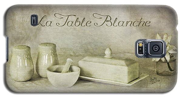 La Table Blanche - The White Table Galaxy S5 Case by Betty Denise