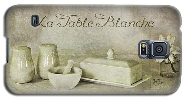 La Table Blanche - The White Table Galaxy S5 Case
