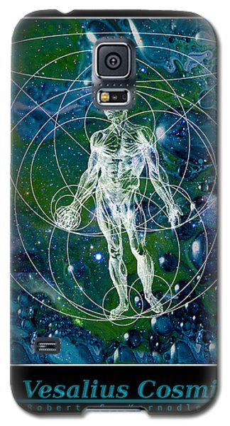 Galaxy S5 Case featuring the painting La Vesalius Cosmica by Robert Kernodle