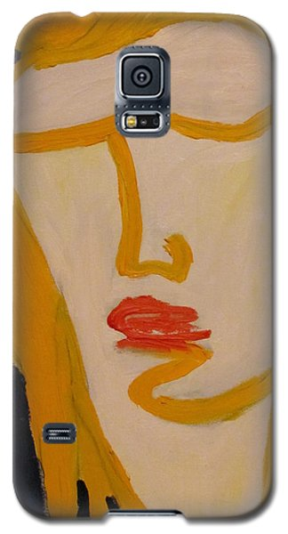 Galaxy S5 Case featuring the painting L.a. Woman by Shea Holliman