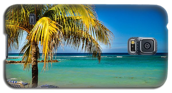 Labadee Beach Relaxing Galaxy S5 Case