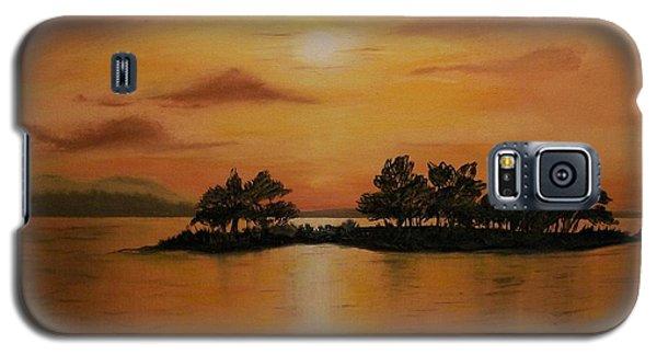 Lac La Biche  Sunset Galaxy S5 Case
