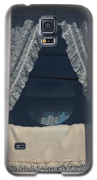 Galaxy S5 Case featuring the photograph Lace Curtain 1 by Douglas Pike