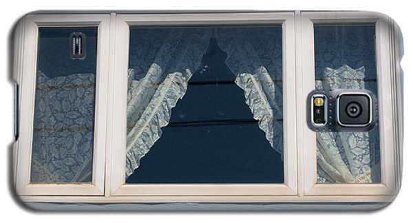 Galaxy S5 Case featuring the photograph Lace Curtains 2 by Douglas Pike