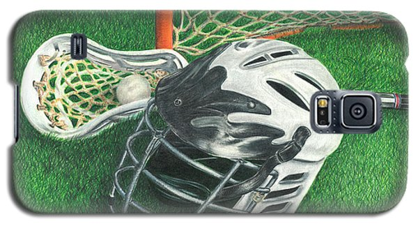 Lacrosse Galaxy S5 Case by Troy Levesque