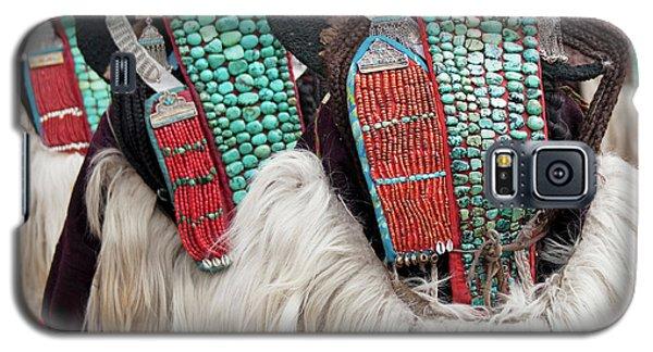 Ladakh, India Married Ladakhi Women Galaxy S5 Case by Jaina Mishra