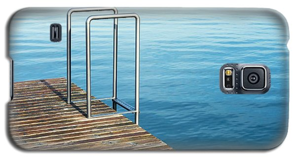 Galaxy S5 Case featuring the photograph Ladder by Chevy Fleet