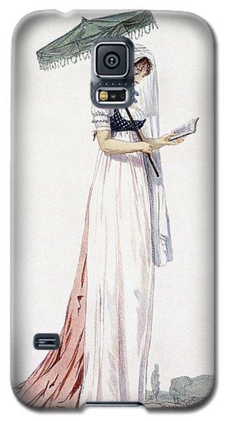 Ladies Elegant Summer Dress Galaxy S5 Case by English School