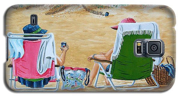 Ladies On The Beach Galaxy S5 Case