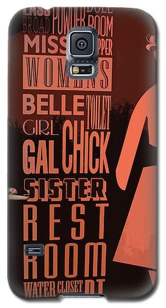 Ladies Room Galaxy S5 Case