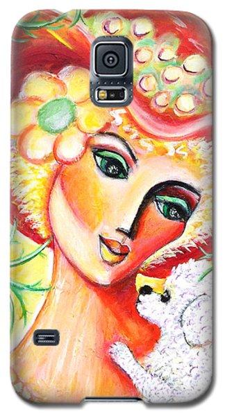 Lady And Bijon Galaxy S5 Case