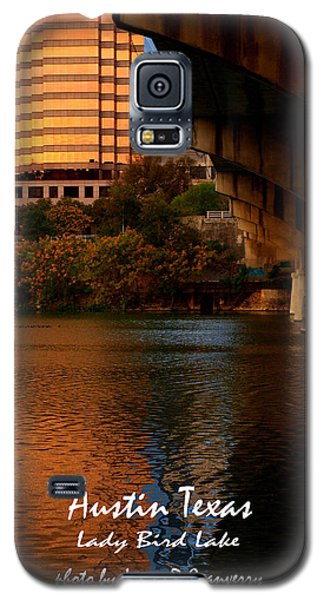 Lady Bird Lake In Fall Galaxy S5 Case