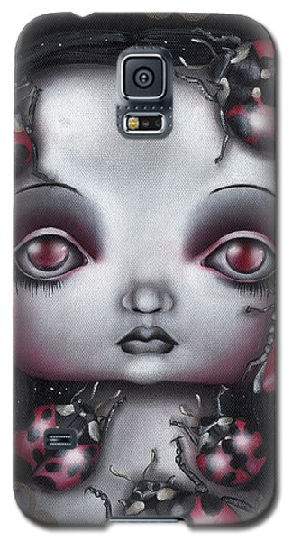 Lady Bug Girl Galaxy S5 Case