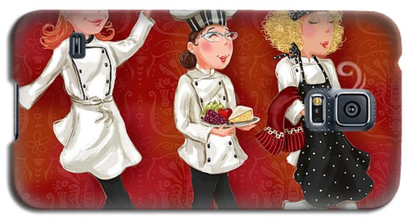 Lady Chefs - Lunch Galaxy S5 Case