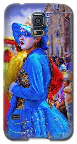 Lady In Blue Galaxy S5 Case