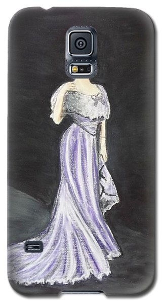 Lady In Gown Galaxy S5 Case