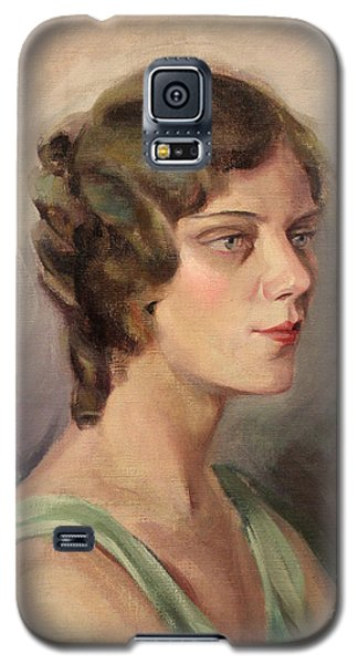 Lady In Green 1929 Galaxy S5 Case