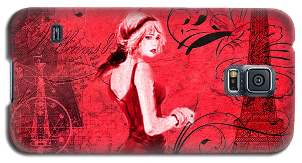 Lady In Paris Galaxy S5 Case