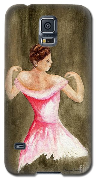 Lady In Pink Galaxy S5 Case