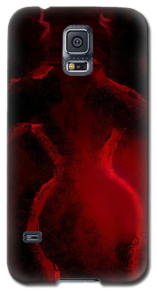 Lady In Red Galaxy S5 Case by Martina  Rathgens