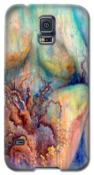 Lady In The Reef Galaxy S5 Case