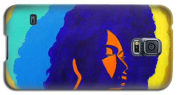 Lady Indigo Galaxy S5 Case