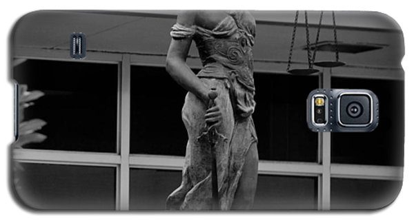 Lady Justice Galaxy S5 Case by Amber Kresge