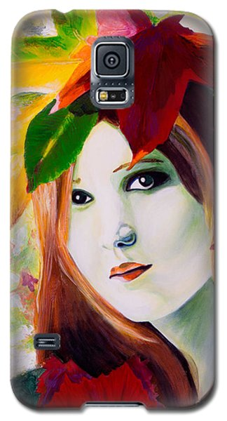 Lady Leaf Galaxy S5 Case