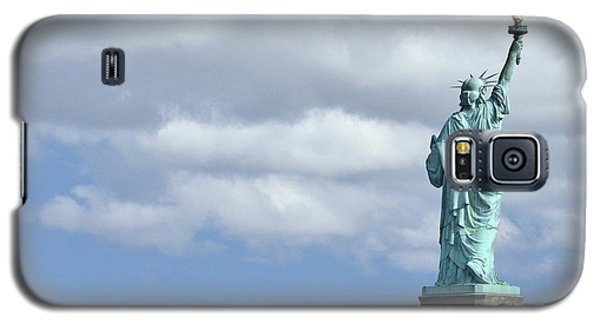 Lady Liberty   1 Galaxy S5 Case by Allen Beatty