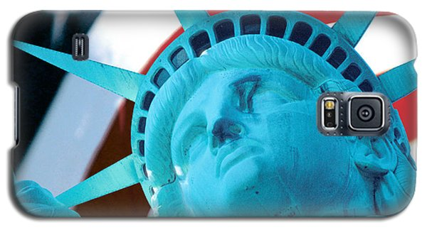Galaxy S5 Case featuring the photograph Lady Liberty  by Jerry Fornarotto