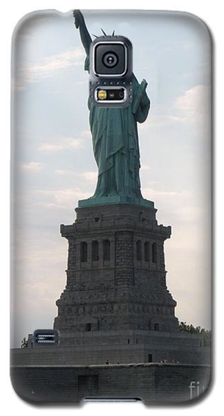 Galaxy S5 Case featuring the photograph Lady Liberty by Luther Fine Art