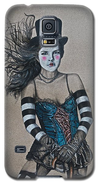 Lady Of A Different Stripe Galaxy S5 Case