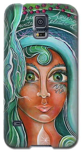 Lady Of Lourdes Madonna Galaxy S5 Case by Deborha Kerr