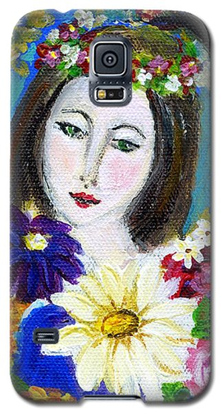 Lady Of Spring Galaxy S5 Case