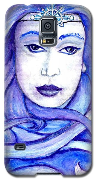 Lady Of The Winter Solstice Galaxy S5 Case