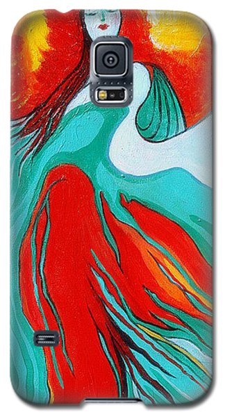 Lady Of Two Worlds Galaxy S5 Case