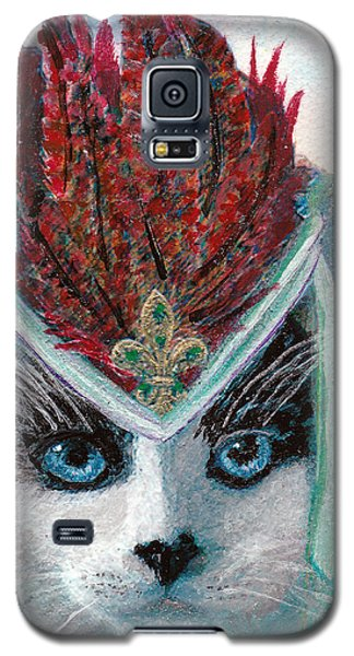 Lady Snowshoe Galaxy S5 Case