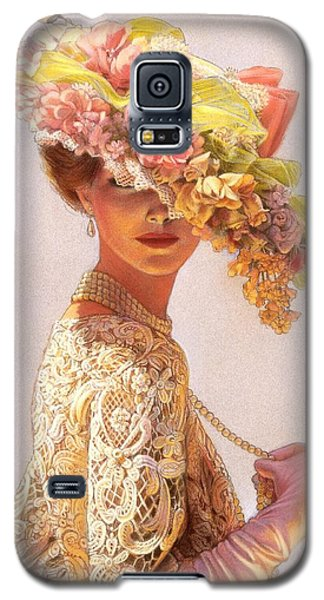 Lady Victoria Victorian Elegance Galaxy S5 Case by Sue Halstenberg