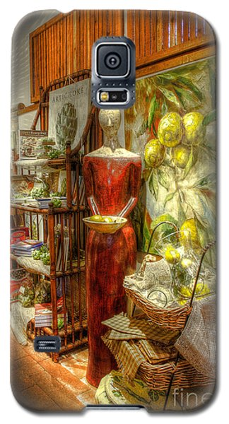 Lady With Lemons Galaxy S5 Case