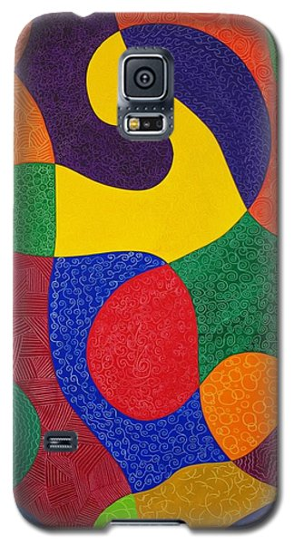 Lady With Open Heart Galaxy S5 Case