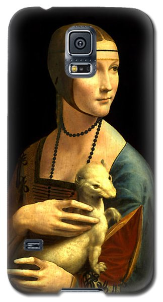 Lady With The Ermine Reproduction Galaxy S5 Case