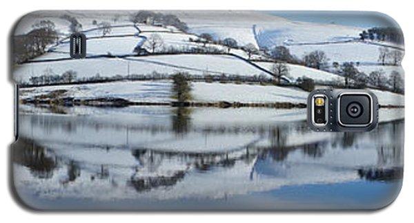 Ladybower Winter Panorama Galaxy S5 Case