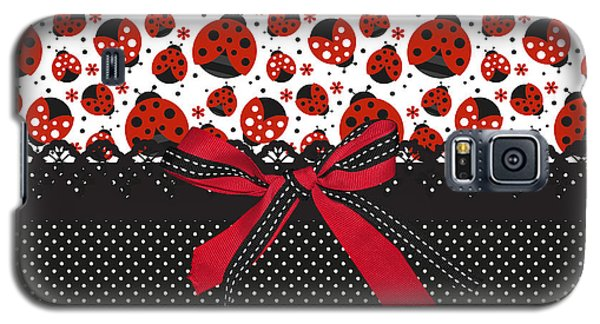 Ladybug Energy  Galaxy S5 Case by Debra  Miller