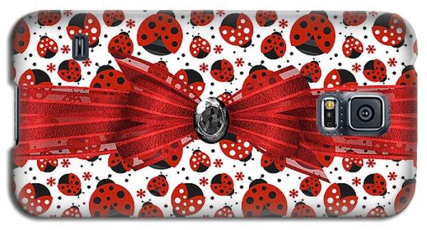 Ladybug Obsession  Galaxy S5 Case by Debra  Miller