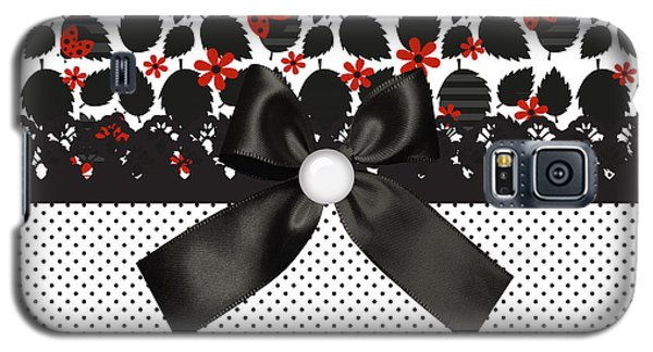 Ladybugs Leaves  Galaxy S5 Case by Debra  Miller