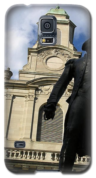Lafayette College Easton Pa Galaxy S5 Case by Jacqueline M Lewis