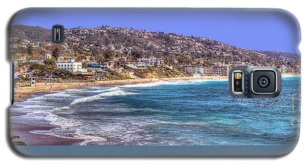 Laguna Beach Coast Panoramic Galaxy S5 Case by Jim Carrell