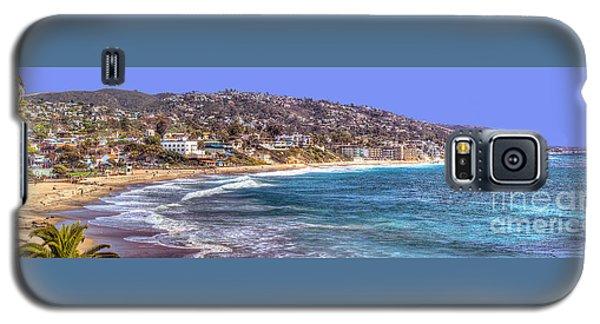 Galaxy S5 Case featuring the photograph Laguna Beach Coast Panoramic by Jim Carrell
